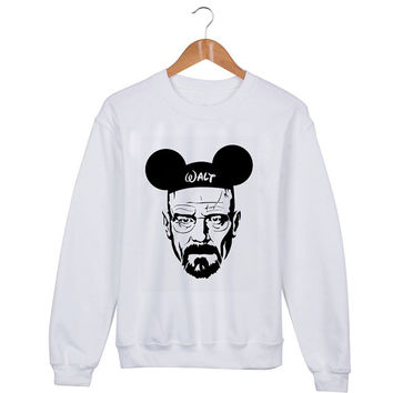 Walter Mouse Sweater sweatshirt unisex adults size S-2XL