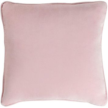 Safflower Pillow Cover - Pale Pink - SAFF7201