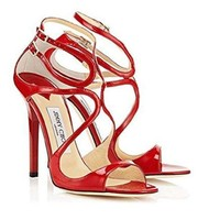 JIMMY CHOO Womens Heeled Sandals Lance-1