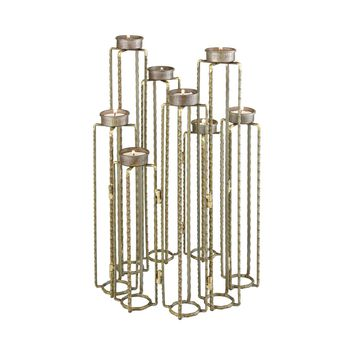 Ascencio Hinged Candle Holders Rust