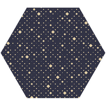 Chrysta Hex Wall Decal
