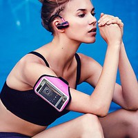 Womens Bluetooth Headphones and Armband Set
