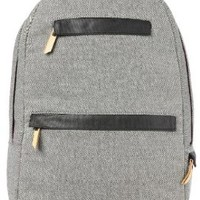 HEX Academy Collection Denim Backpack for MacBook, Grey (HX1113-GYDE)