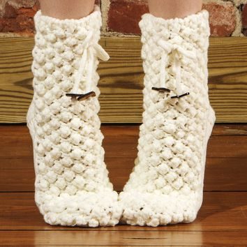 Women's Cosy Slipper Socks by Memoi