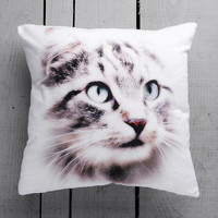 Free Shipping, Cat Decorative Pillow Cover, Cashion Case Handmade Velvet
