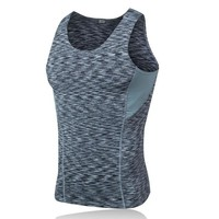 Running Vests Jogging New Arrival Men's Gym Active Sports Fitness Tank Tops Quick Dry Sleeveless Summer T-shirts Compression Workout  Top KO_11_1