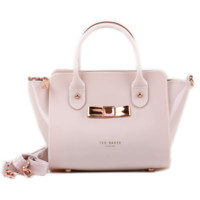 Ted Baker Women Shopping Leather Tote Crossbody Satchel Shoulder Bag