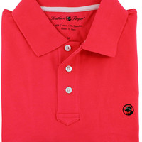 Proper Polo in Cherry Red by Southern Proper