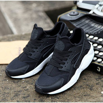 Black Custom Huarache Run
