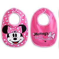 Minnie Mouse Bib Set for Baby
