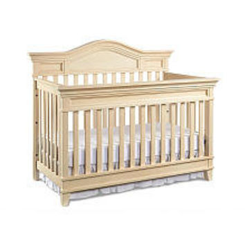 Babi Italia Asheville Lifetime Convertible Crib - Oyster Shell