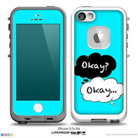 The Fault In Our Stars Okay Speech Bubbles V3 Skin for the iPhone LifeProof Case