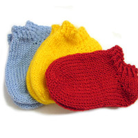 Short ankle socks, soft wool spring socks, choose size newborn, 3-6 month, 6-12 month, 1-1.5 year , choose color