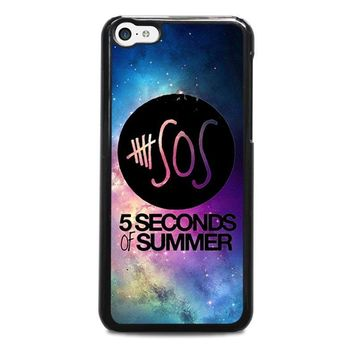 5 seconds of summer 1 5sos iphone 5c case cover  number 3