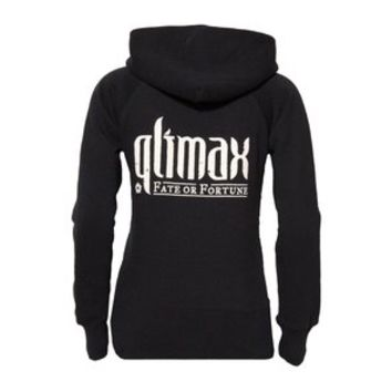 QLIMAX HOODED ZIPPED SWEATER BLACK, WOMEN | Q-dance Store