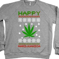Heather Grey Sweatshirt | Funny Weed Shirts
