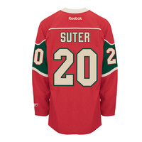 Ryan Suter Minnesota Wild Reebok Premier Replica Home NHL Hockey Jersey