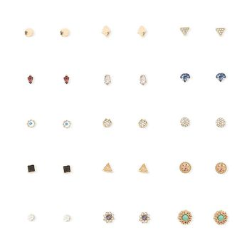 Geo Stud Earring Set - Women - New Arrivals - 1000093545 - Forever 21 Canada English