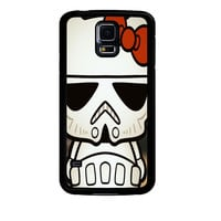 Hello Kitty Stormtrooper Samsung Galaxy S5 Case