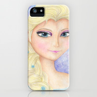 Elsa iPhone & iPod Case by Susaleena | Society6