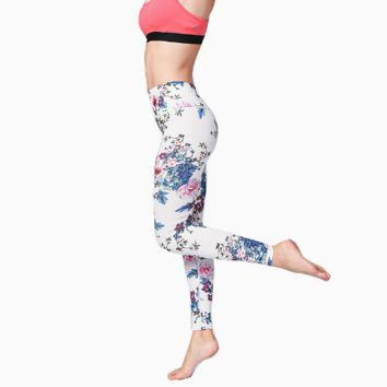 Women Patchwork Running Leggings