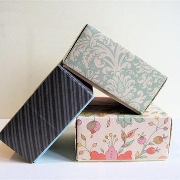 Large Origami Gift Boxes Assortment of 5 by PhDstressrelief