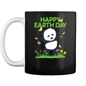 Earth Day Panda Shirt for Toddler Girls and Boys Mug