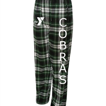 YMCA Cobras Mens/Womens Flannel Pant