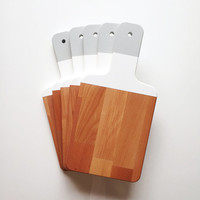 Color Block Cutting Board | Hostess Gift | Wooden Cutting Board | Hostess Gift | Painted Chopping Board