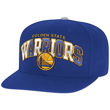 Mitchell And Ness Nba Reflective Tri Pop Snapback Hat WARRIORS