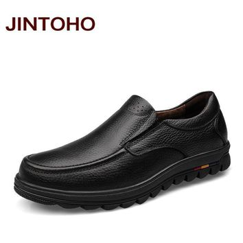 Italian Design Leather Luxury Shoes / Genuine Leather Formal Loafers
