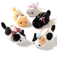 Tsuchineko Mofu Mofu Plushies (Ball Chain)