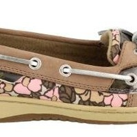 Sperry Women's Angelfish, Greige/Pink Floral-9.5