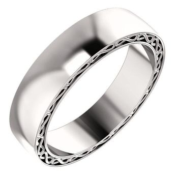 Matthew Infinity-Inspired Wedding Band