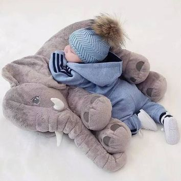 Baby Elephant Plush Stuffed Toy Soft Children's Elephant Pillow Gifts