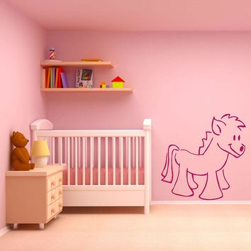 Pony Wall Decal
