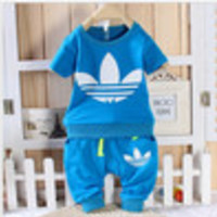 Free Gift in order!   boy and girl clothing sets cotton short  beach suit colorful  baby boy clothing set and children outerwear - Default