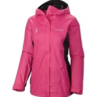 Columbia Women's Tested Tough In Pink II Rain Jacket | DICK'S Sporting Goods
