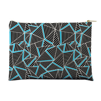Ab Lines Electric Blue Pouch