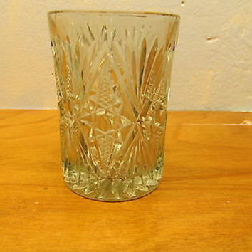 VINTAGE CRYSTAL JUICE GLASS