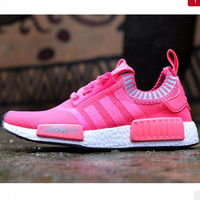 "Women ""Adidas"" NMD Boots Casual Sports Shoes Pink"