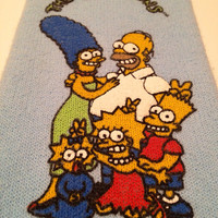 Vintage The Simpsons Socks 1990