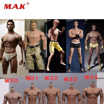 TBLeague M30 M31 M32 M33 M34 1/6 Super-Flexible Action Figure Puppe Seamless Body With Stainless Steel Skeleton Doll body