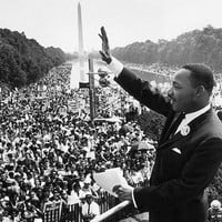 Martin Luther King Jr. March on Washington August 28 1963 Art Print