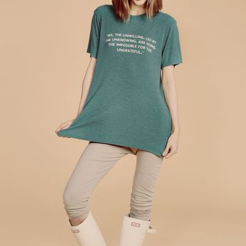 We, the Unwilling Your Boyfriend's Tee