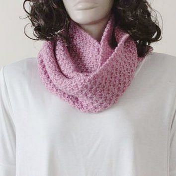 Knitted Scarf - Unisex -  For Women or For Men