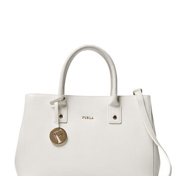 Furla Women's Linda Small Tote - White