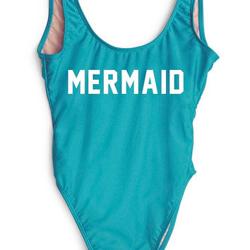 Private Party 2016 || Mermaid one piece in blue