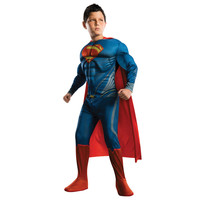 New Arrival Kids Deluxe Muscle Superman Halloween Costume