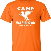YL 14-16 Orange Youth Camp Half-Blood T-Shirt